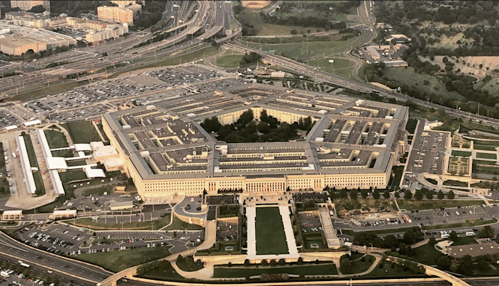 <p>The US Department of Defense is working on a wearable sensor that would detect radio frequencies (pictured is the Pentagon)</p> (Wiyre Media/ Flickr )