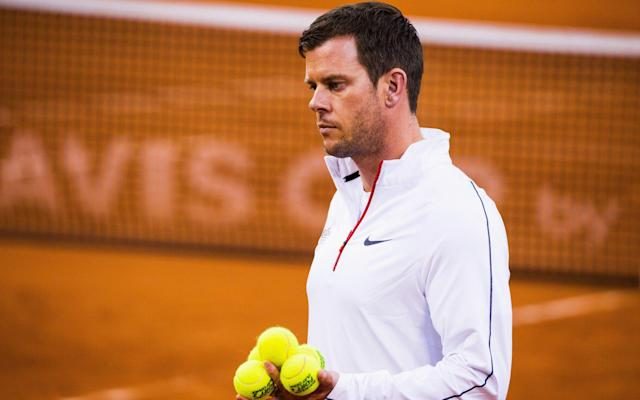 <span>Great Britain's Davis Cup Captain Leon Smith is hopeful of a shock win</span>