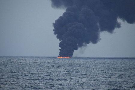 China detects position of sunken oil tanker Sanchi
