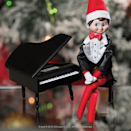 """<p><strong>The Elf on the Shelf</strong></p><p>amazon.com</p><p><strong>$32.95</strong></p><p><a href=""""http://www.amazon.com/dp/B00VX8G2NM/?tag=syn-yahoo-20&ascsubtag=%5Bartid%7C10055.g.3033%5Bsrc%7Cyahoo-us"""" rel=""""nofollow noopener"""" target=""""_blank"""" data-ylk=""""slk:SHOP NOW"""" class=""""link rapid-noclick-resp"""">SHOP NOW</a></p><p>If you think about it, an Elf on the Shelf is a little super-spy, so he should get to dress like James Bond every once in a while. </p>"""