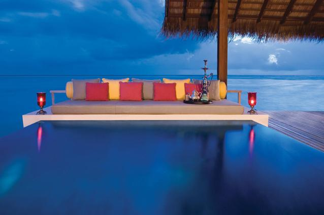 One&Only Reethi Rati, Maldives - North Male 233; Atoll, Republic of Maldives (00 960 664 8800; www.oneandonlyresorts.com) Grand Water Villa from Rs 2,13,940 per night