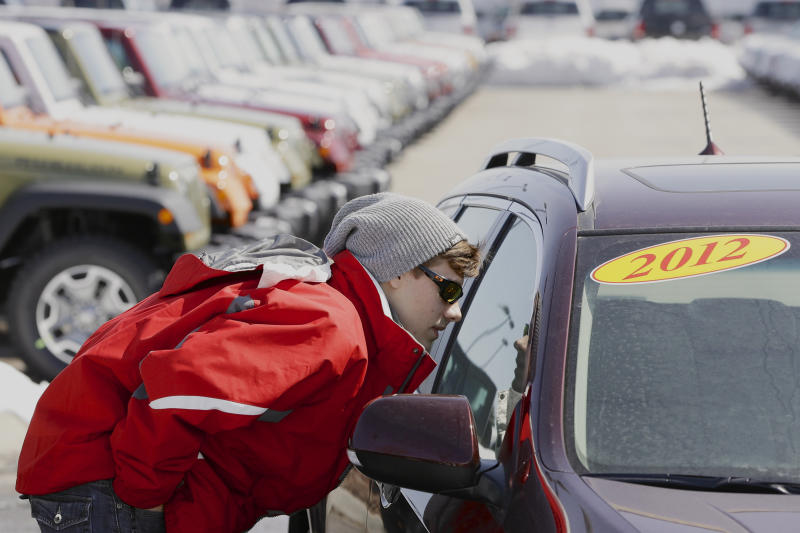 No let up for auto sales in March; pickups star