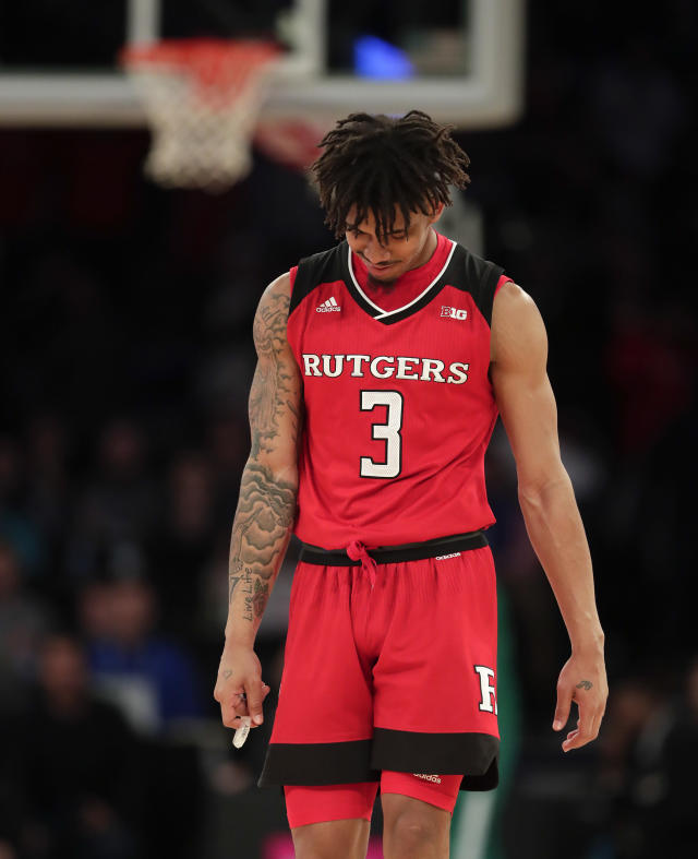 <p><strong>64. Rutgers</strong><br>Top 2017-18 sport: wrestling. Trajectory: Steady. When is a No. 107 national finish something to celebrate for a Power Five? When the previous year's finish was 116th. Until proven otherwise, the Scarlet Knights' move to the Big Ten remains a lucrative disaster. </p>