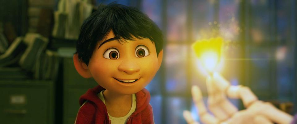 """<p>Pixar's <strong>Coco</strong> reimagines the Day of the Dead, a November holiday all about celebrating family and honoring your ancestors. Graveyards, skeletons, and candles aren't the only reasons this is a great movie to curl up and watch this fall, but they sure do help. </p> <p><a href=""""https://www.amazon.com/Coco-UHD-_TEST-Anthony-Gonzalez/dp/B079QD8ZJ6/ref=sr_1_1?dchild=1&amp;keywords=coco&amp;qid=1632278006&amp;s=instant-video&amp;sr=1-1"""" class=""""link rapid-noclick-resp"""" rel=""""nofollow noopener"""" target=""""_blank"""" data-ylk=""""slk:Watch Coco on Amazon Prime Video"""">Watch <strong>Coco</strong> on Amazon Prime Video</a>.</p>"""