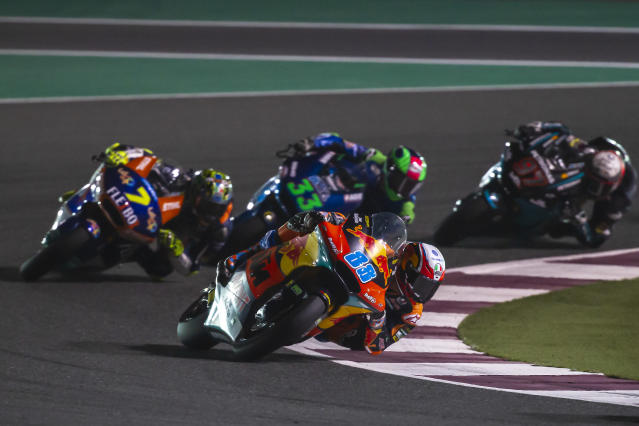 Four rounds of the MotoGP season in Qatar, Thailand, Texas and Argentina will not go ahead as scheduled.