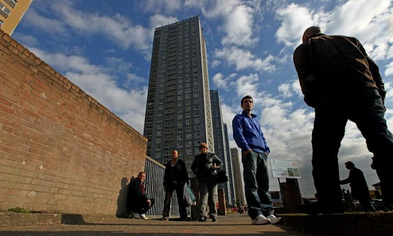 Asylum seekers in Glasgow. Picture taken 8 March 2010