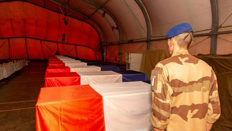 France honours 13 soldiers killed in helicopter crash in Mali