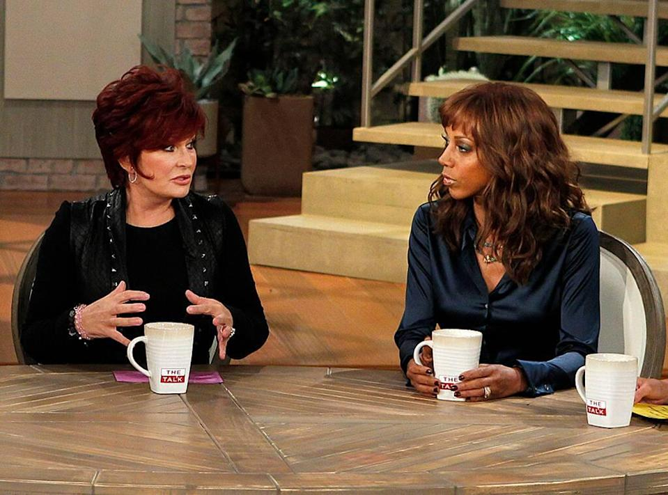 Holly Robinson Peete, Sharon Osbourne, The Talk