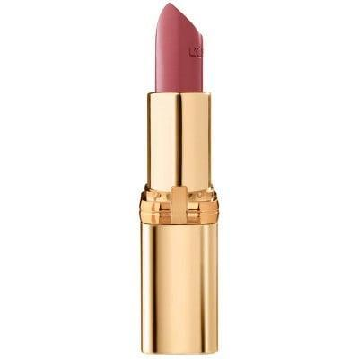 <p>If you are not a fan of matte lips, the <span>L'Oreal Paris Colour Riche Original Satin Lipstick For Moisturized Lips - 0.13oz</span> ($6) will leave your lips feeling healthy and soft.</p>