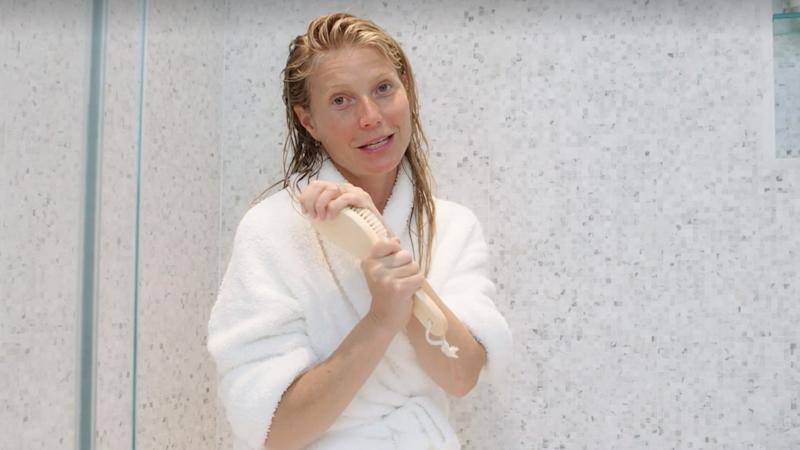 The goop founder breaks down her nighttime skincare routine and favorite products for 'Harper's Bazaar.'