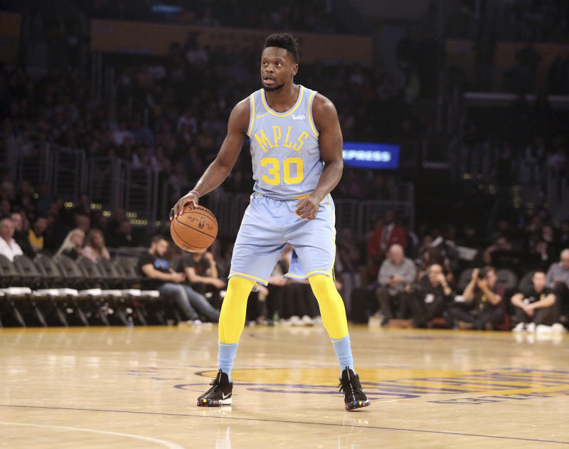 NBA  Former Los Angeles Laker Julius Randle agrees to sign with the New  Orleans Pelicans 6fe295569