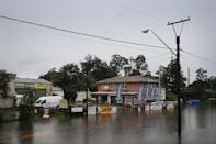 <p>South Windsor is at a standstill as the rain continues.</p>