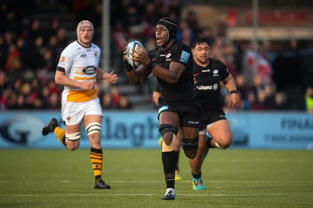 Marquee names like Maro Itoje could be affected by the salary cap reduction (Victoria Jones/PA)