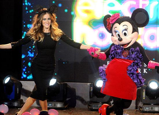Sarah Jessica Parker Launches Barney's Disney Christmas Campaign: VIDEO