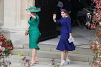 <p>When Princess Beatrice straight-up refused to wear a traditional bridesmaid dress and wore custom Ralph & Russo instead. </p>