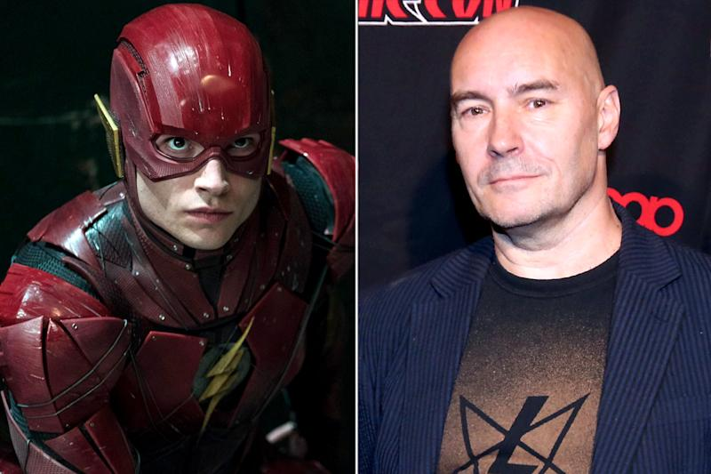 Ezra Miller teams up with Grant Morrison to write The Flash movie script
