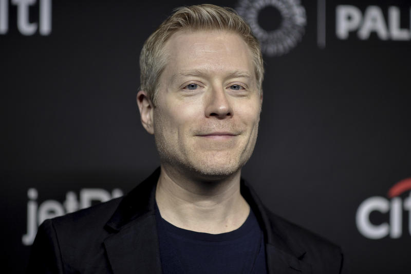 "Anthony Rapp attends the 36th Annual PaleyFest ""Star Trek: Discovery and The Twilight Zone"" at the Dolby Theatre on Sunday, March 24, 2019, in Los Angeles. (Photo by Richard Shotwell/Invision/AP)"