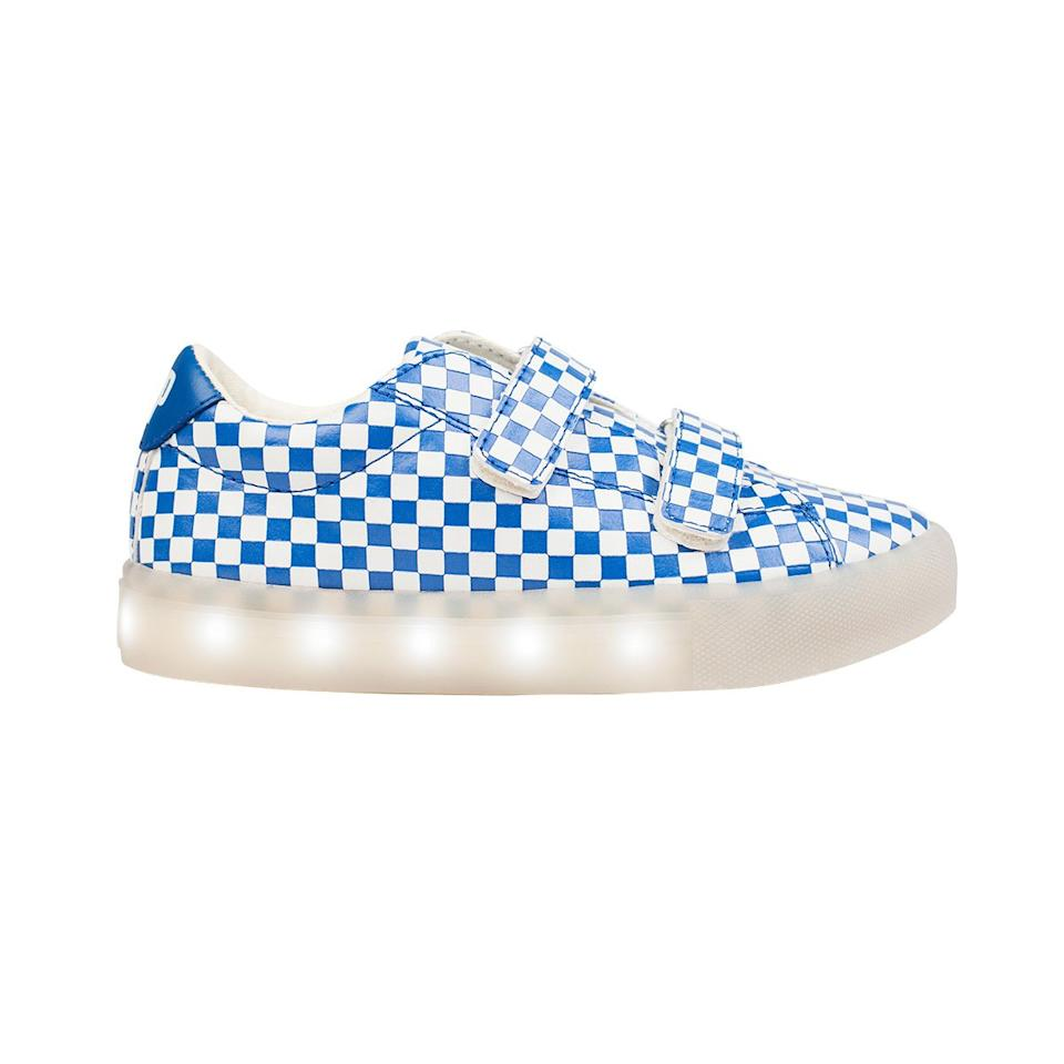 <p>Every kid wants light-up shoes, and everyone dressing a kid wants shoes that look cool and fun with the rest of their wardrobe. Consider this a crowd-pleasing option. </p>