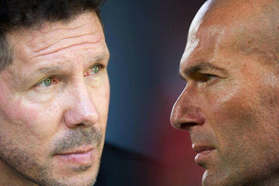 Simeone and Zidane go head to headGetty Images