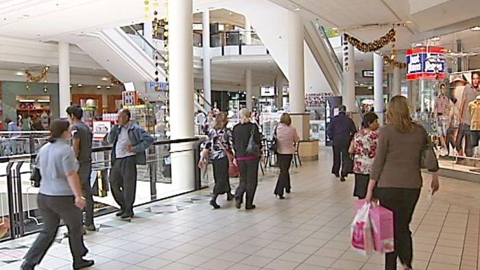 Canberra shoppers undeterred
