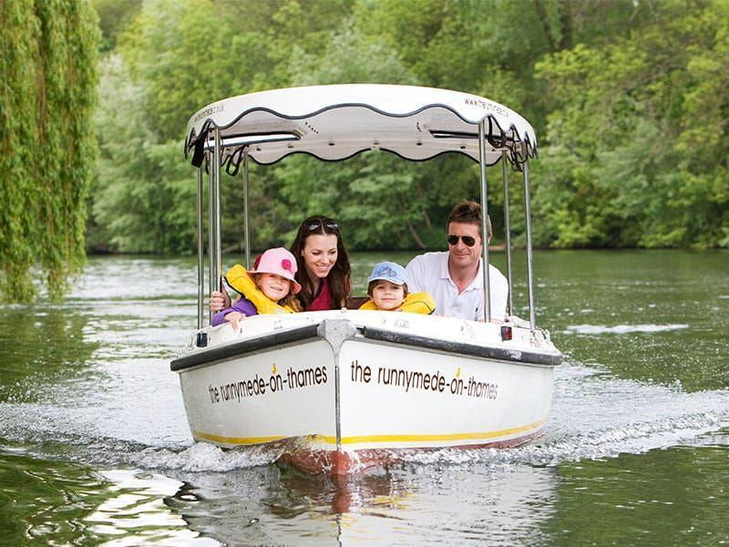 """<p>On the banks of the River Thames in Surrey, <a href=""""https://go.redirectingat.com?id=127X1599956&url=https%3A%2F%2Fwww.booking.com%2Fhotel%2Fgb%2Fthe-runnymede-on-thames.en-gb.html%3Faid%3D2070936%26label%3Dprima-family-hotels-uk&sref=https%3A%2F%2Fwww.prima.co.uk%2Ftravel%2Fg37009633%2Ffamily-hotels-uk%2F"""" rel=""""nofollow noopener"""" target=""""_blank"""" data-ylk=""""slk:The Runnymede-on-Thames"""" class=""""link rapid-noclick-resp"""">The Runnymede-on-Thames</a> offers bags of facilities to keep the whole family amused. There's a tennis court for family tournaments and heated one-on-ones; the outdoor cinema for feel-good classics in the open air; an indoor and outdoor swimming pool for splashing around in; and even boats for hire on the water. </p><p>There's a playroom with a PS4 and Xbox to keep teens amused, or for animal lovers there's food to feed the ducks and treats for the family pet. Despite the hustle and bustle, parents can unwind with a glass of champagne in the riverside hot tub and watch the comings and goings on the River Thames, or enjoy a well-deserved pampering treatment in the spa.</p><p><a href=""""https://www.primaholidays.co.uk/offers/surrey-egham-the-runnymede-on-thames"""" rel=""""nofollow noopener"""" target=""""_blank"""" data-ylk=""""slk:Read our review of The Runnymede"""" class=""""link rapid-noclick-resp"""">Read our review of The Runnymede</a></p><p><a class=""""link rapid-noclick-resp"""" href=""""https://go.redirectingat.com?id=127X1599956&url=https%3A%2F%2Fwww.booking.com%2Fhotel%2Fgb%2Fthe-runnymede-on-thames.en-gb.html%3Faid%3D2070936%26label%3Dprima-family-hotels-uk&sref=https%3A%2F%2Fwww.prima.co.uk%2Ftravel%2Fg37009633%2Ffamily-hotels-uk%2F"""" rel=""""nofollow noopener"""" target=""""_blank"""" data-ylk=""""slk:CHECK AVAILABILITY"""">CHECK AVAILABILITY</a></p>"""