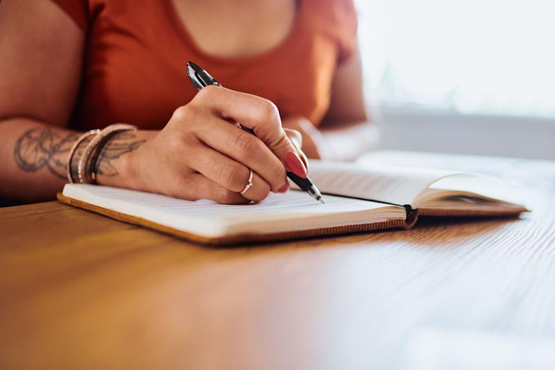 Dealing with extra stress and anxiety right now? Journaling is a healthy habit to add to your daily routine. (Photo: LaylaBird via Getty Images)