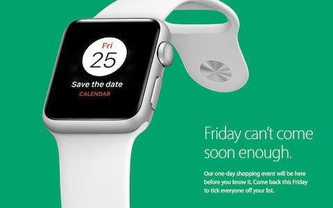 Apple took part in Black Friday 2016