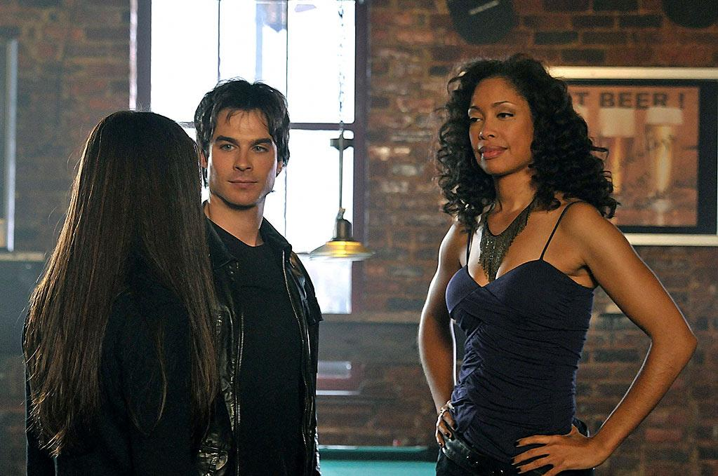 Bree: We love seeing Gina Torres as much as the next sci-fi geek and would have been happy to have her bartender become a helpful ear to the Salvatore brothers, but she went and tattled on Damon and he had to rip her heart out of her chest. He's impulsive like that. Still, much as we like the idea of a bar where every vampire knows your name, we don't want a ghost behind the counter being stingy with the booze.