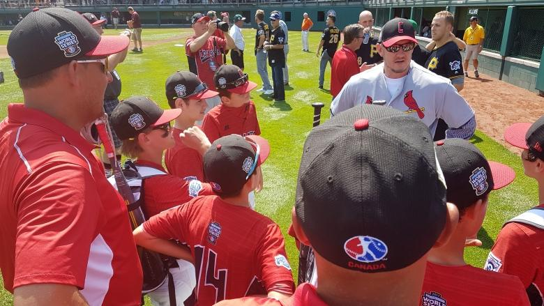Canadian Little Leaguers have a day to remember in Williamsport
