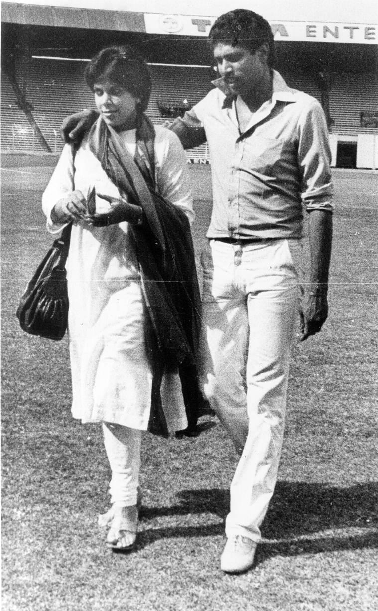 kapil dev with wife romi dev