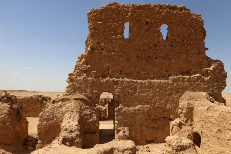 Al-Aqiser archaeological site in Iraq, home to what is considered one of the world's oldest churches, is a victim of neglect and climate change like many of Iraqi ancient sites
