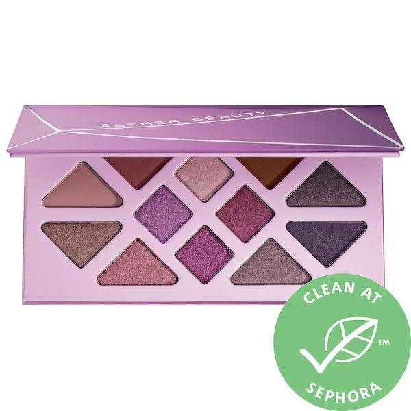 <p>Attention, purple-lovers: each of the 12 options in this <span>Aether Beauty Amethyst Crystal Gemstone Eyeshadow Palette</span> ($40, originally $58) pack amethyst powder along with soothing organic lavender oil, too.</p>