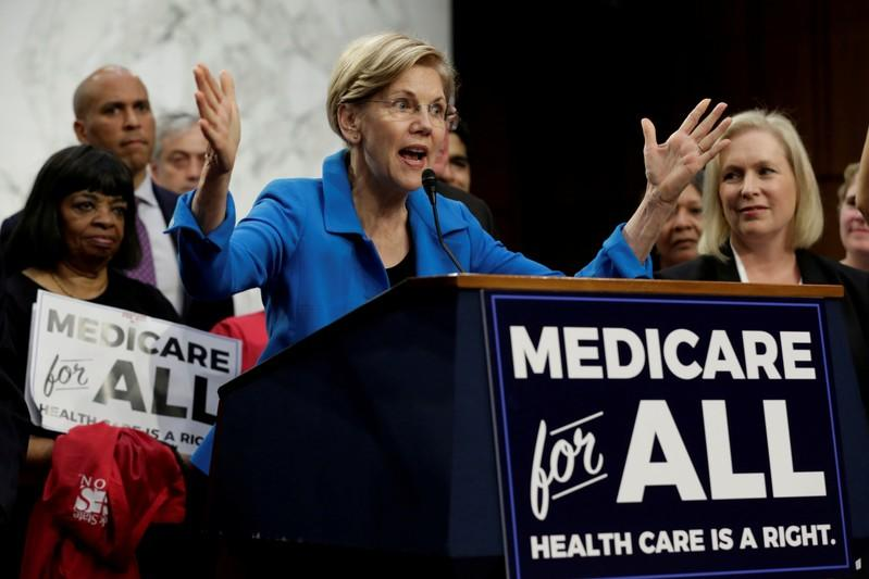 Warren's big healthcare plan relies on big assumptions