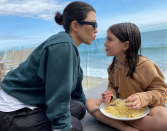 """<p>As a busy mom, meal prepping helps Kourtney stay healthy during the week. She keeps her dinners simple by cooking <a href=""""https://www.foodnetwork.com/healthyeats/diets/2018/kourtney-kardashian-diet"""" rel=""""nofollow noopener"""" target=""""_blank"""" data-ylk=""""slk:vegetable soup or turkey chili"""" class=""""link rapid-noclick-resp"""">vegetable soup or turkey chili</a> on Sunday and keeping the leftovers in the fridge for the week.</p>"""