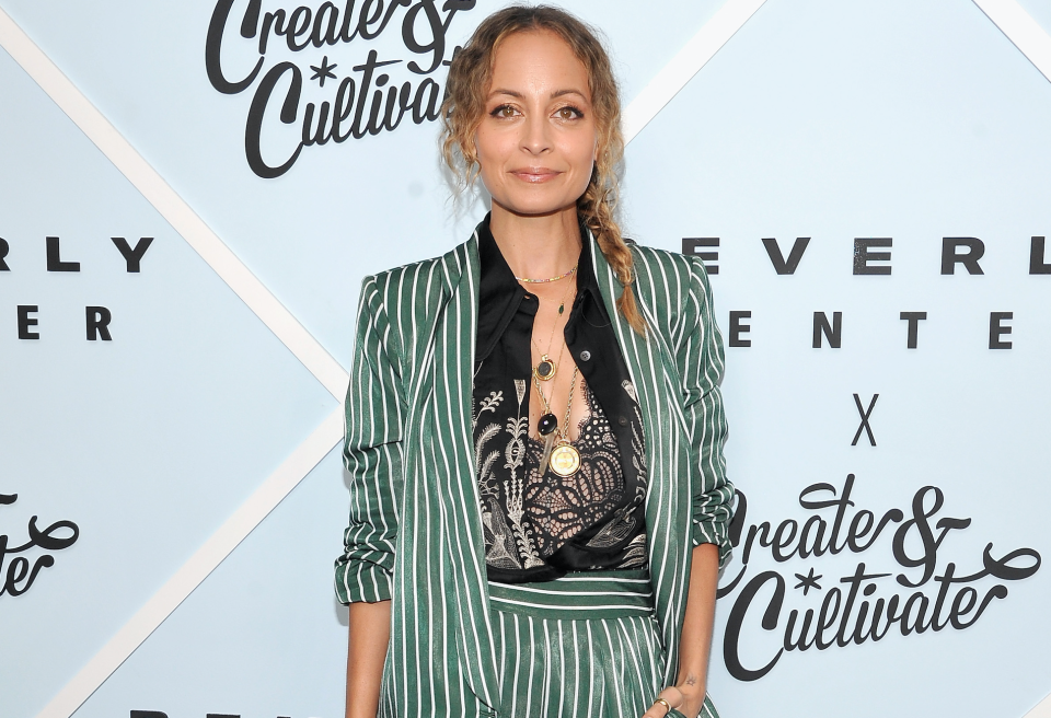 Nicole Richie at Create & Cultivate during the Beverly Center Grand Reveal Weekend. (Photo: Getty Images)