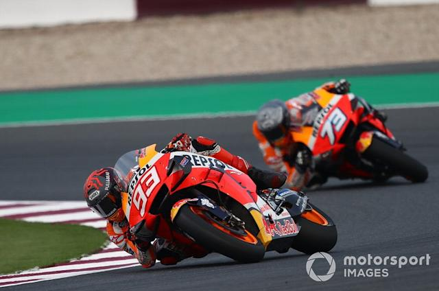 """Marc and Alex Marquez, Repsol Honda Team <span class=""""copyright"""">Gold and Goose / Motorsport Images</span>"""