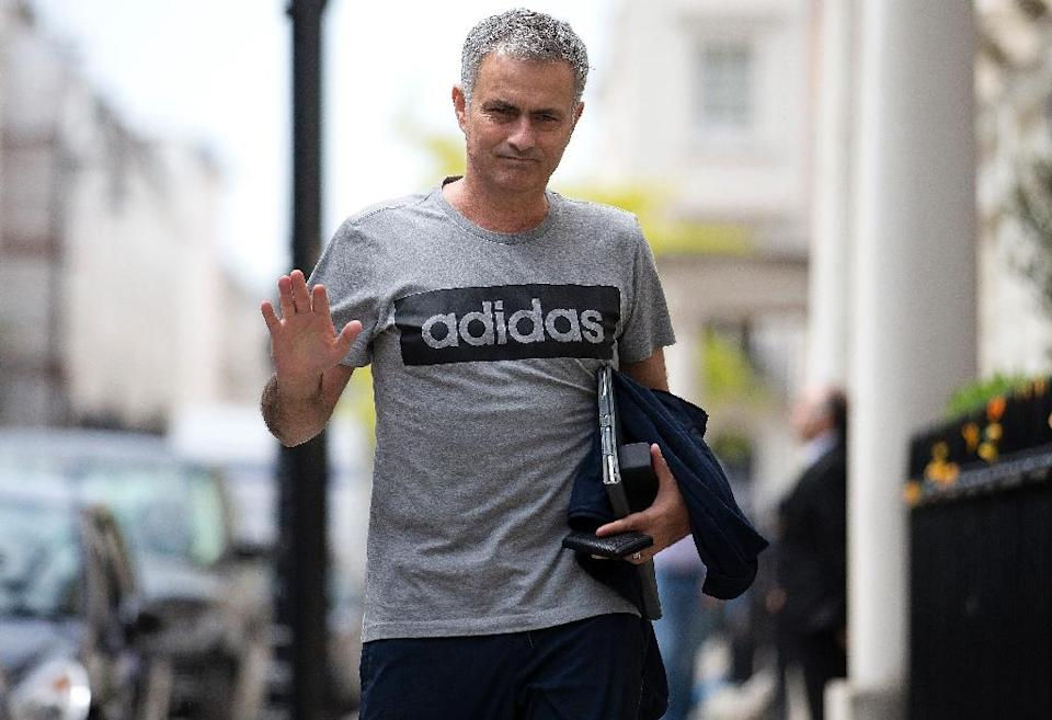Manchester United's new manager Jose Mourinho faces an immediate challenge in recruiting new players, without the temptation of Champions League football in year one (AFP Photo/Justin Tallis)