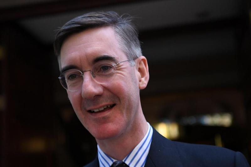 MP and Pro-Brexit campaigner Jacob Rees-Mogg (EPA)