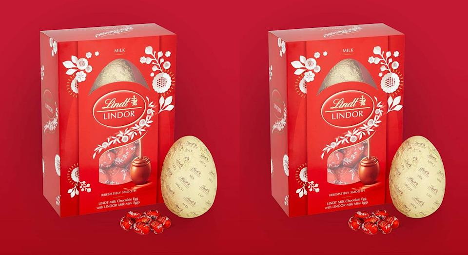 Love Lindor? You can now buy enjoy it in Easter egg form. (Amazon)