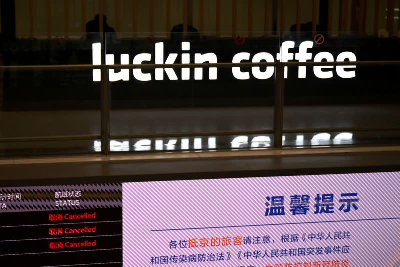 Demand for Luckin app surges as Chinese rush to drink up after admission of fraud