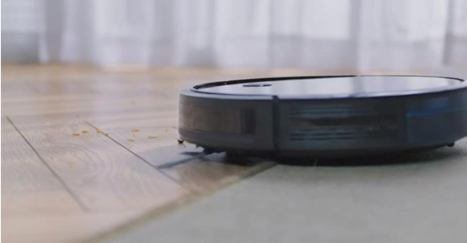 """Made to do all the dirty work for you, this robot vacuum is worth the splurge. With the press of a couple of buttons to set its cleaning schedule, this thing'll be off and running — sucking up pesky crumbs and pet hair so you can<i>finally</i>walk barefoot again.<br /><br /><strong>Promising review:</strong>""""Just swept and vacuumed my house yesterday and ran the Roomba for 20 minutes today, and<strong> it picked up SO much hair.In 20 minutes!</strong>I was on the fence about buying it and SO glad I did. Just got it today but so far so good! It's amazing!"""" —<a href=""""https://www.amazon.com/dp/B079QYYGF1?tag=huffpost-bfsyndication-20&ascsubtag=5834502%2C21%2C46%2Cd%2C0%2C0%2C0%2C962%3A1%3B901%3A2%3B900%3A2%3B974%3A3%3B975%3A2%3B982%3A2%2C16267306%2C0"""" target=""""_blank"""" rel=""""noopener noreferrer"""">Lindsay</a><br /><br /><strong>Get it from Amazon for<a href=""""https://www.amazon.com/dp/B079QYYGF1?tag=huffpost-bfsyndication-20&ascsubtag=5834502%2C21%2C46%2Cd%2C0%2C0%2C0%2C962%3A1%3B901%3A2%3B900%3A2%3B974%3A3%3B975%3A2%3B982%3A2%2C16267306%2C0"""" target=""""_blank"""" rel=""""noopener noreferrer"""">$199</a>.</strong>"""
