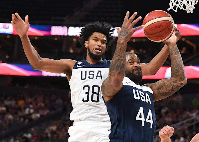Marvin Bagley became the latest withdrawal from Team USA. Mandatory Credit: Stephen R. Sylvanie-USA TODAY Sports