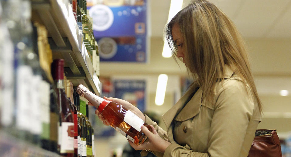 A woman - not the one pictured - has had an unpleasant encounter after shopping for alcohol at Aldi. Source: Getty, file image