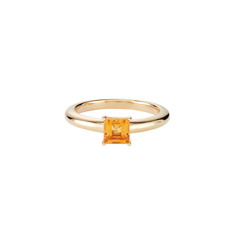"""<br><br><strong>Mejuri</strong> Monochrome Citrine Ring, $, available at <a href=""""https://go.skimresources.com/?id=30283X879131&url=https%3A%2F%2Fmejuri.com%2Fshop%2Fproducts%2Fmonochrome-citrine-ring"""" rel=""""nofollow noopener"""" target=""""_blank"""" data-ylk=""""slk:Mejuri"""" class=""""link rapid-noclick-resp"""">Mejuri</a>"""