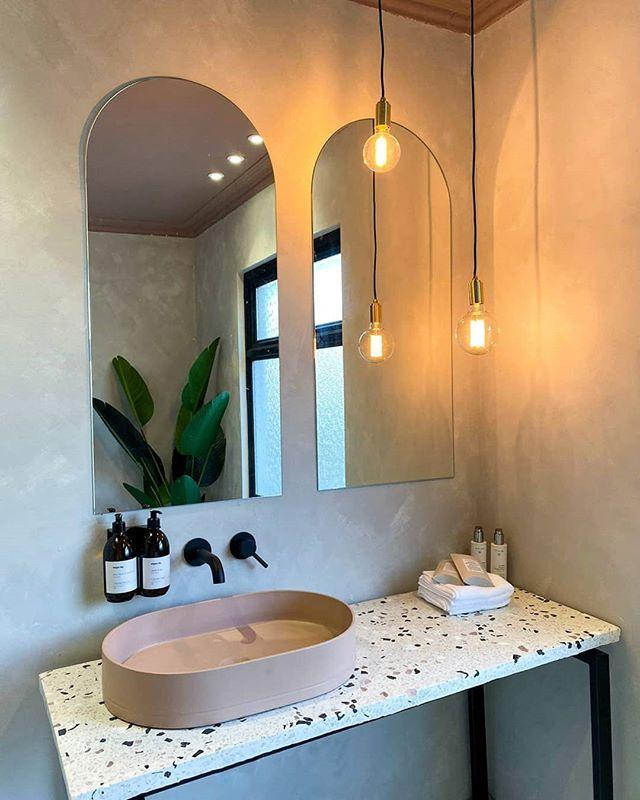 """<p>Matte black taps are sleek and oh-so stylish. Whether you pair them with marble-effect counter tops or opt for white <a href=""""https://www.housebeautiful.com/uk/decorate/a34072712/topps-tiles-zellica/"""" rel=""""nofollow noopener"""" target=""""_blank"""" data-ylk=""""slk:tiles"""" class=""""link rapid-noclick-resp"""">tiles</a>, there are plenty of ways you can make them work in your space — regardless of its size. </p><p><strong>READ MORE</strong>: <a href=""""https://www.housebeautiful.com/uk/lifestyle/g28348335/beautiful-hotel-bathrooms/"""" rel=""""nofollow noopener"""" target=""""_blank"""" data-ylk=""""slk:10 of the most beautiful hotel bathrooms in the world"""" class=""""link rapid-noclick-resp"""">10 of the most beautiful hotel bathrooms in the world</a> </p><p><a href=""""https://www.instagram.com/p/B498uQ6BNnq/"""" rel=""""nofollow noopener"""" target=""""_blank"""" data-ylk=""""slk:See the original post on Instagram"""" class=""""link rapid-noclick-resp"""">See the original post on Instagram</a></p>"""
