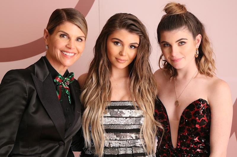 Lori Loughlin got some Mother's Day love from daughters Olivia Jade and Bella Giannulli (pictured in 2018). (Photo: Gabriel Olsen/Getty Images for Sephora Collection)