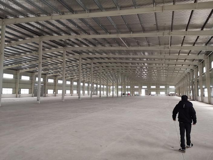 Qin said a 150,000 square-foot EU good manufacturing practice (GMP) compliant cultivation and extraction operation will be fully constructed in six months. (Provided)