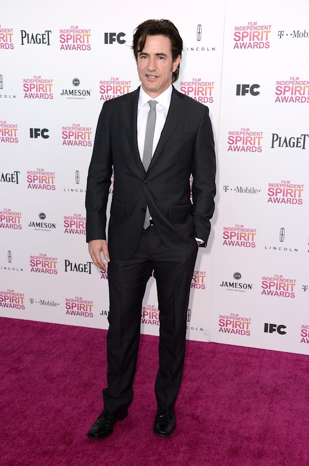 SANTA MONICA, CA - FEBRUARY 23:  Actor Dermot Mulroney attends the 2013 Film Independent Spirit Awards at Santa Monica Beach on February 23, 2013 in Santa Monica, California.  (Photo by Frazer Harrison/Getty Images)