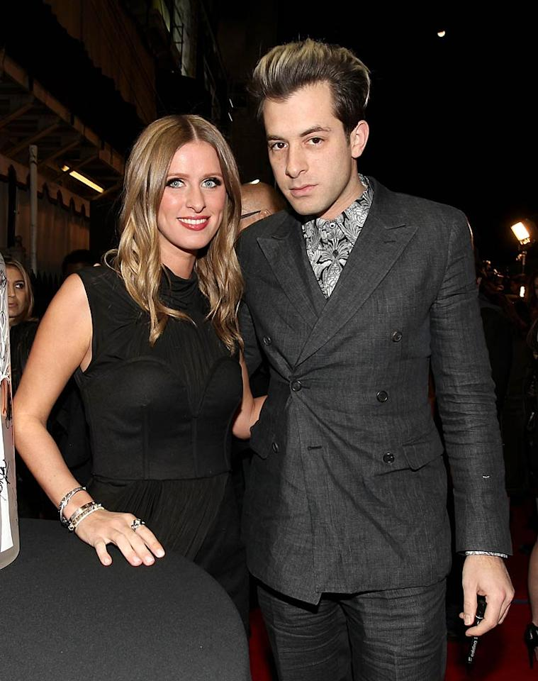 Paris' little sis Nicky was also in attendance, as was newly engaged DJ Mark Ronson, who spun tunes later in the evening for partygoers. Christopher Polk/ GettyImages.com - February 10, 2011