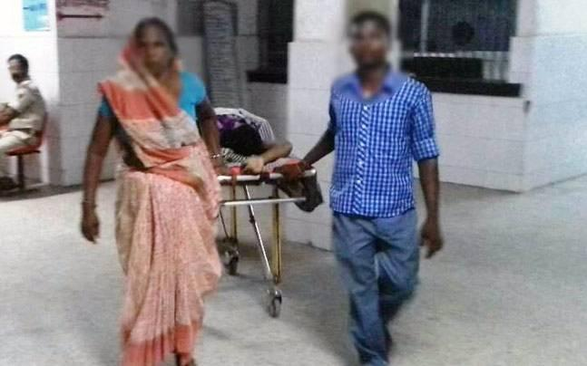 A teenager in Bihar was gangraped by a group of six men in the  Lakhisarai district. She has been admitted to a Patna hospital, where  her condition is stated to be critical.